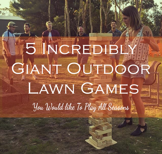 5 Outdoor Lawn Games for All the Seasons