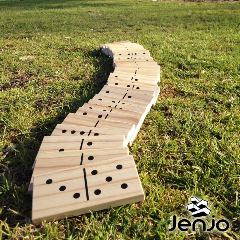Giant Dominoes - Outdoor Lawn Games by Jenjo Games Australia
