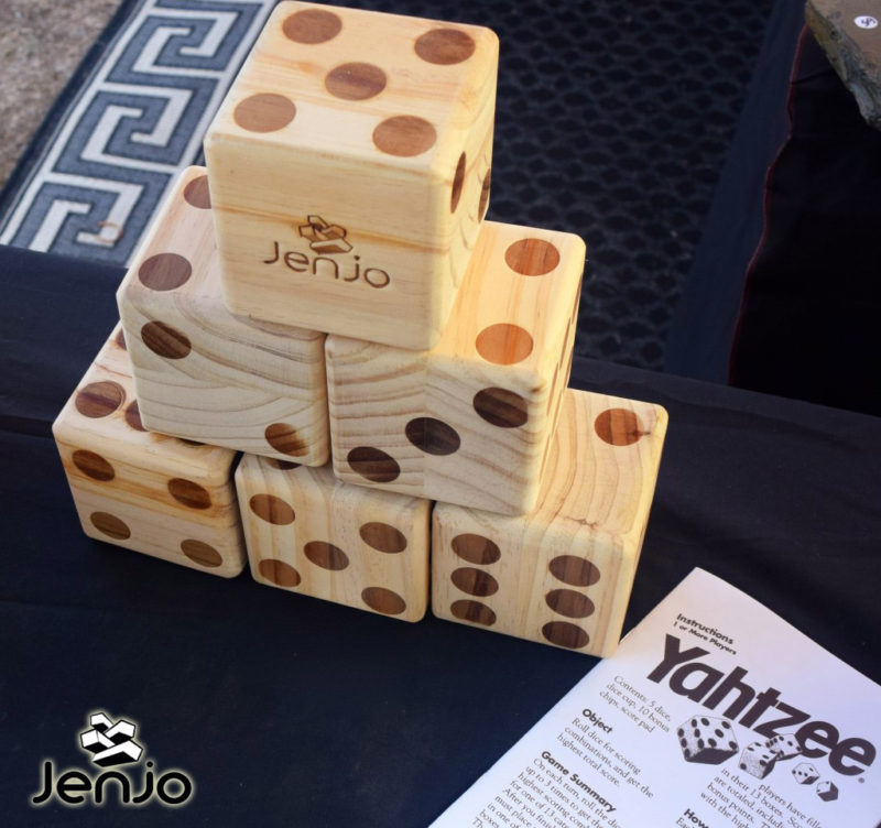 Giant Dice - Outdoor Lawn Games by Jenjo Games Australia