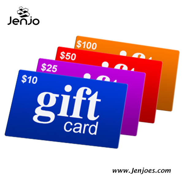 Jenjo Games Gift Cards