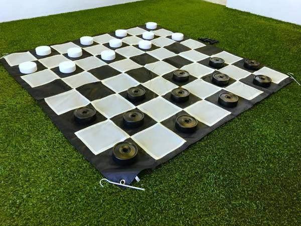 Mega Checkers | Hire Mega Checkers | Jenjo Games