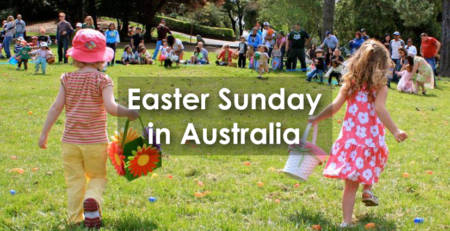 Easter Sunday in Australia