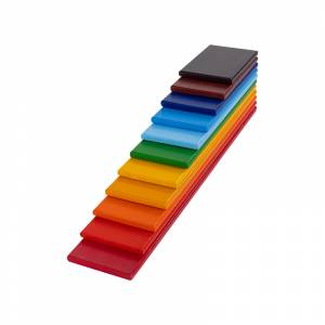 Rainbow Wooden Planks