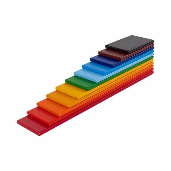 Rainbow Wooden Planks