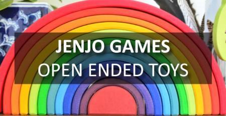 Open Ended Toys for Children | Jenjo Games - Australia