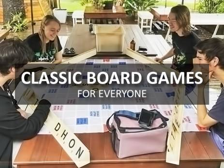Classic Board Games for Everyone
