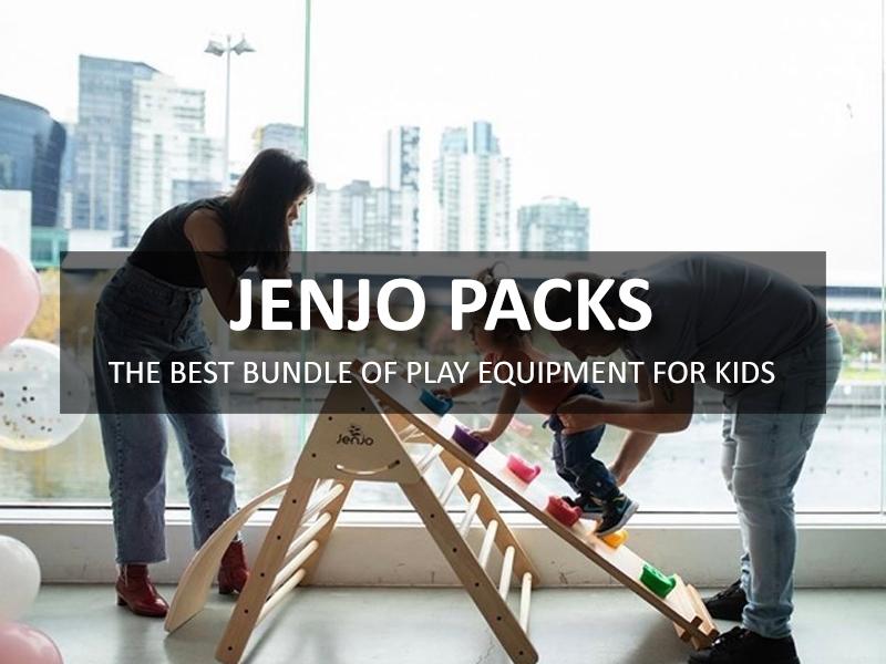 Jenjo Packs - The Best Bundle of Play Equipment for Kids | Jenjo Games